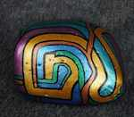 AZTEC ABODE - Hand-Painted Stones by ROCKSTARZ