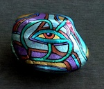 ISHTAR OASIS Hand-Painted Stone