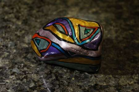 SIX-CAR SUNDAY: Hand-Painted Stones by ROCKSTARZ