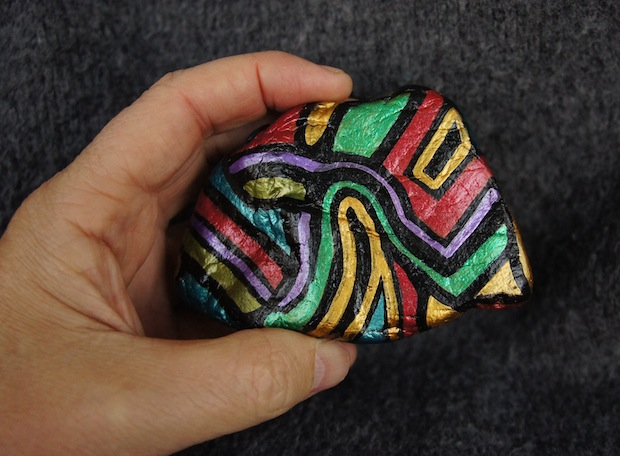 MR FIVE-EYES : Hand-Painted Stones